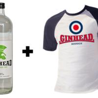 Ginhead Set mit Baseball Shirt und Ginhead Gin
